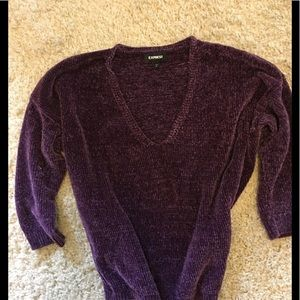 Chenille sweater by Express